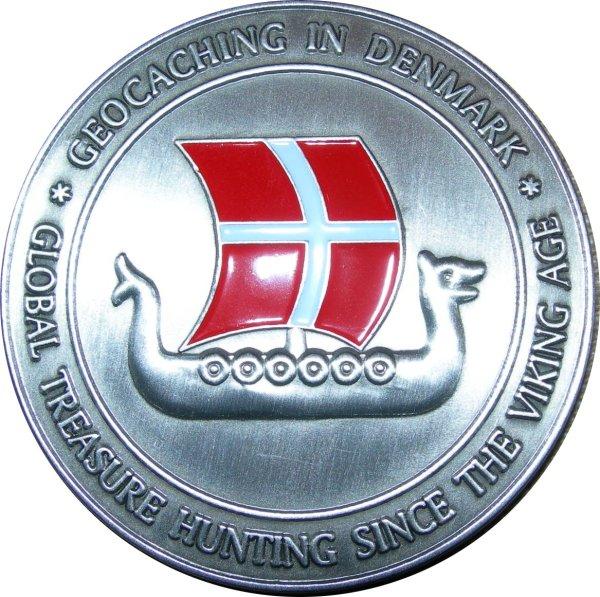 Officiel dansk geocoin 2006