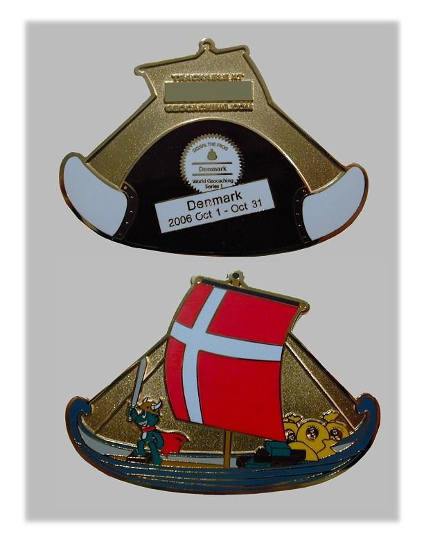 Vikingeskib coin fra Groundspeak